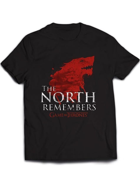 The North Remembers T-Shirt Game of Thrones