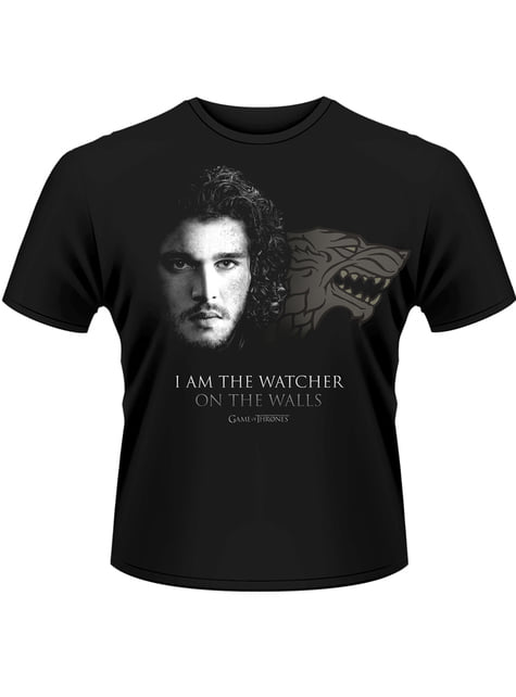 Game of Thrones: Watcher On The Wall t-paita