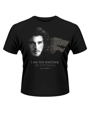 Maglietta di Game of Thrones Watcher On The Walls