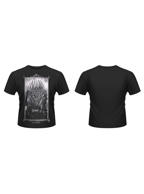 T-shirt Permainan Thrones Iron Throne
