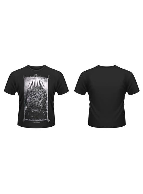 T-shirt de A Game of Thrones Trono de Ferro