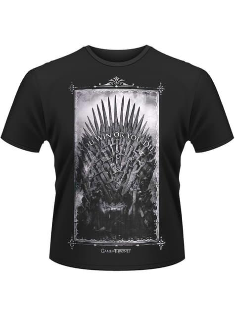Camiseta de Juego de Tronos Trono de Hierro