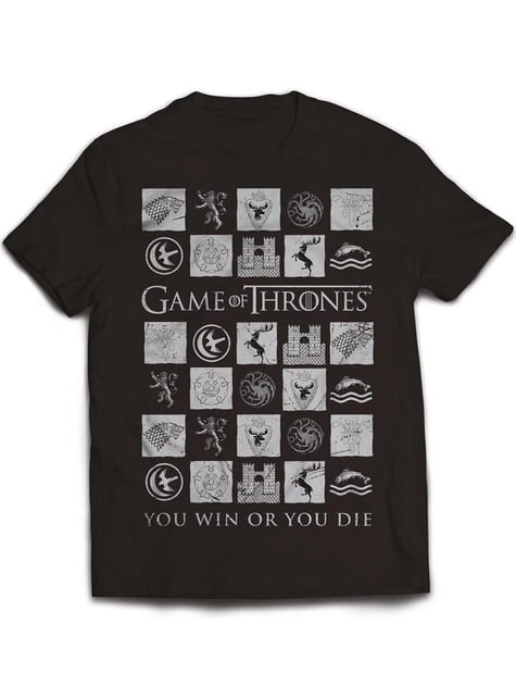Game of Thrones You Win Or You Die t-shirt