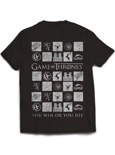 Tričko Hra o trůny (Games of Thrones) Zvítězíš nebo zemřeš