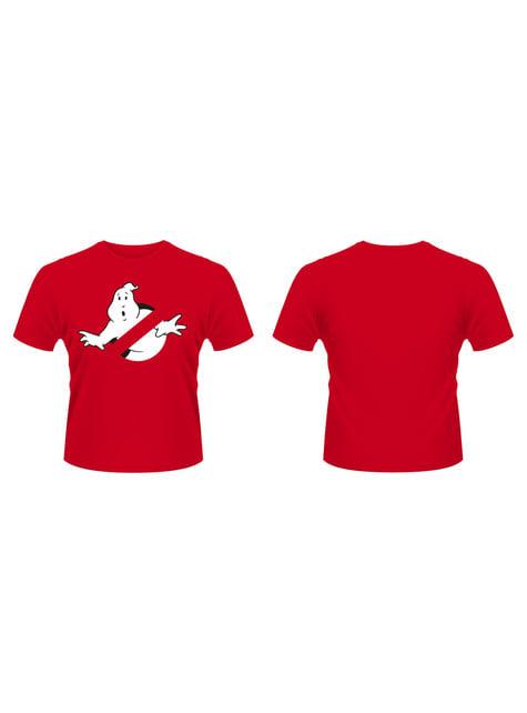 T-shirt de Os Caça-Fantasmas Logo vermelha