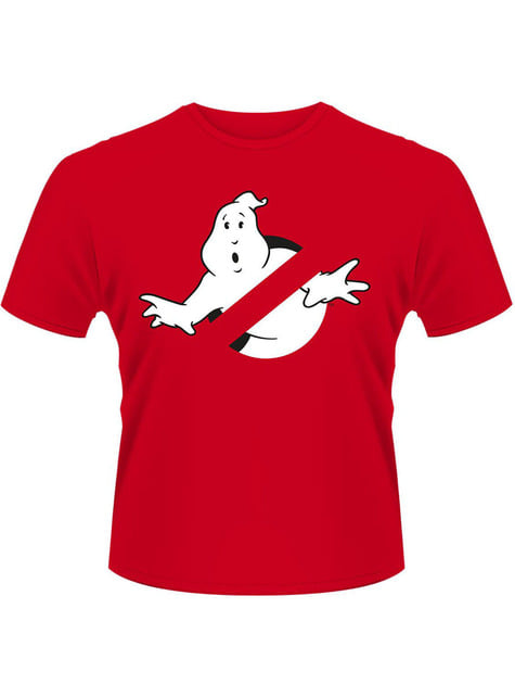 T-shirt Ghostbusters Logo rouge