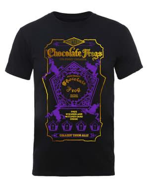 Camiseta de Harry Potter Chocolate Frogs para hombre