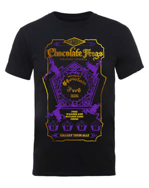 T-shirt de Harry Potter Chocolate Frogs para homem