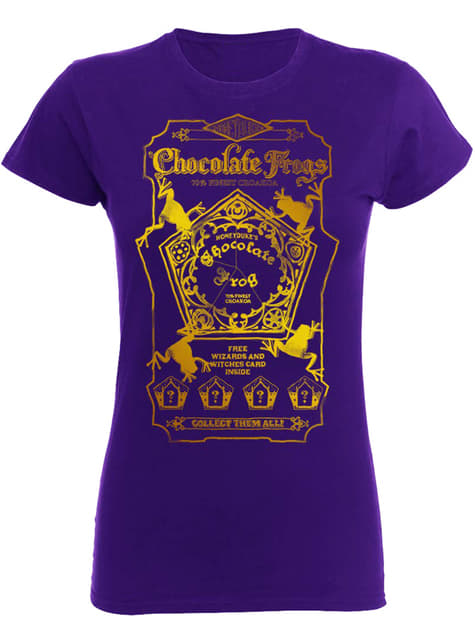 T-shirt Harry Potter Chocolate Frogs femme