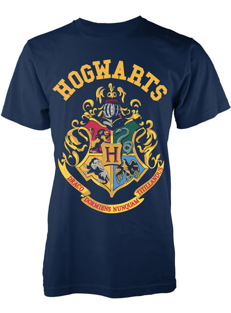 Pánské tričko Harry Potter (Hogwarts) Bradavice erb