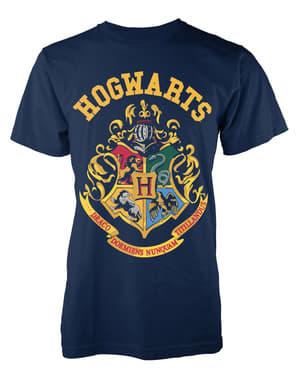 T-shirt de Harry Potter Hogwarts Crest para homem