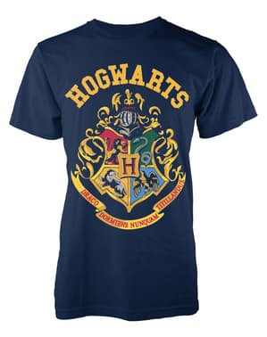 T-shirt Harry Potter Poudlard Crest homme