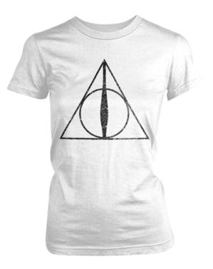 Camiseta de Harry Potter Deathly Hallows Symbol para mujer