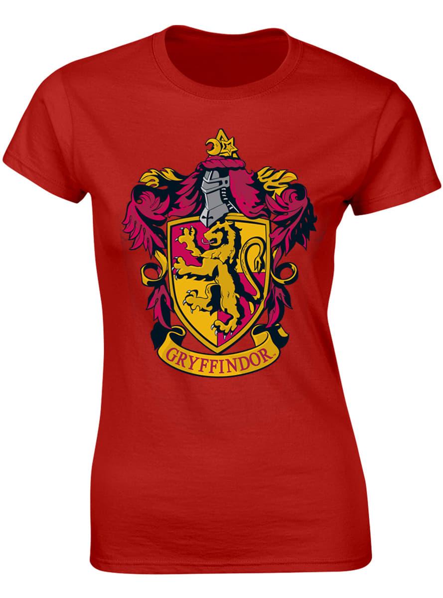 T Shirt Harry Potter Gryffondor Femme Funidelia