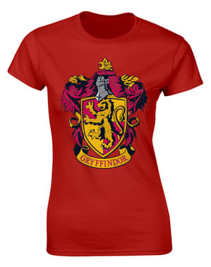 Camiseta de Harry Potter Gryffindor para mujer