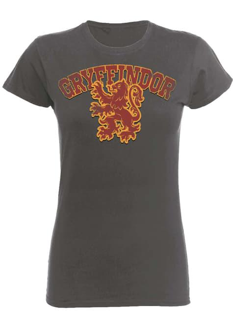 Dámské tričko Harry Potter (Gryffindor) Nebelvír sportovní