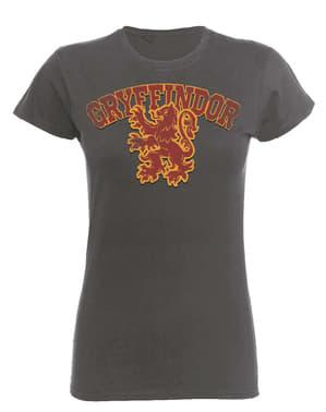 महिलाओं के लिए हैरी पॉटर ग्राईफिंडर स्पोर्ट टी-शर्ट