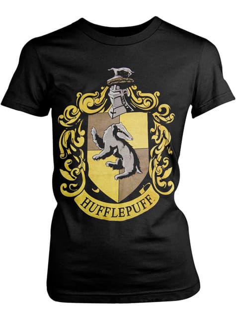 Camiseta de Harry Potter Hufflepuff Crest para mujer