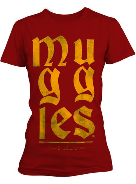 Camiseta de Harry Potter Muggles para mujer