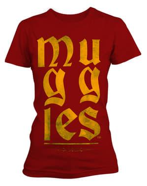 महिलाओं के लिए हैरी पॉटर मगल्स टी-शर्ट