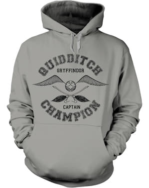 Harry Potter Quidditch bajnok kapucnis pulóver