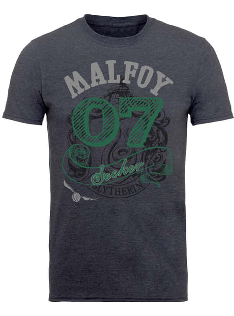 Camiseta de Harry Potter Seeker Malfoy para hombre