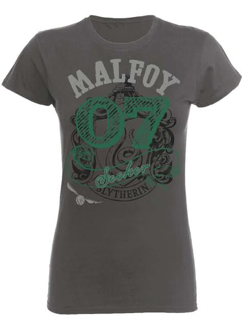 Harry Potter Seeker Malfoy T-shirt til kvinder