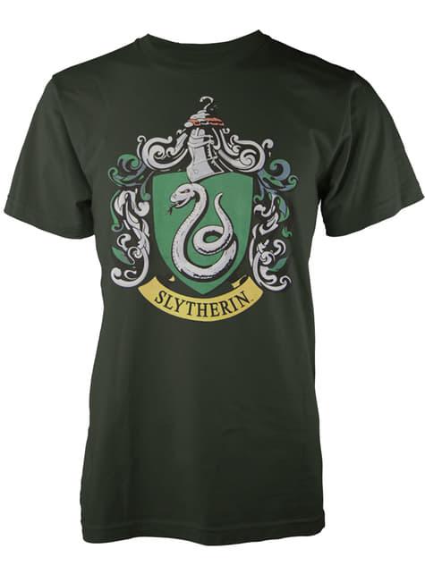 T-shirt de Harry Potter Slytherin Crest para homem