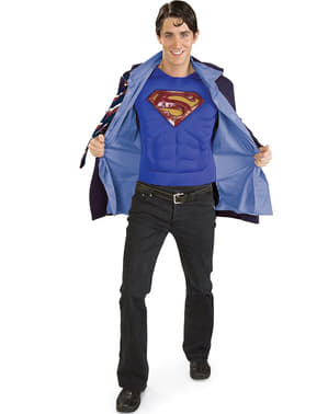 Superman Clark Kent Maskeraddräkt