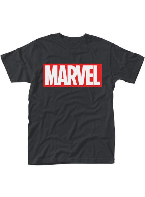 Camiseta de Marvel Comics Logo para hombre