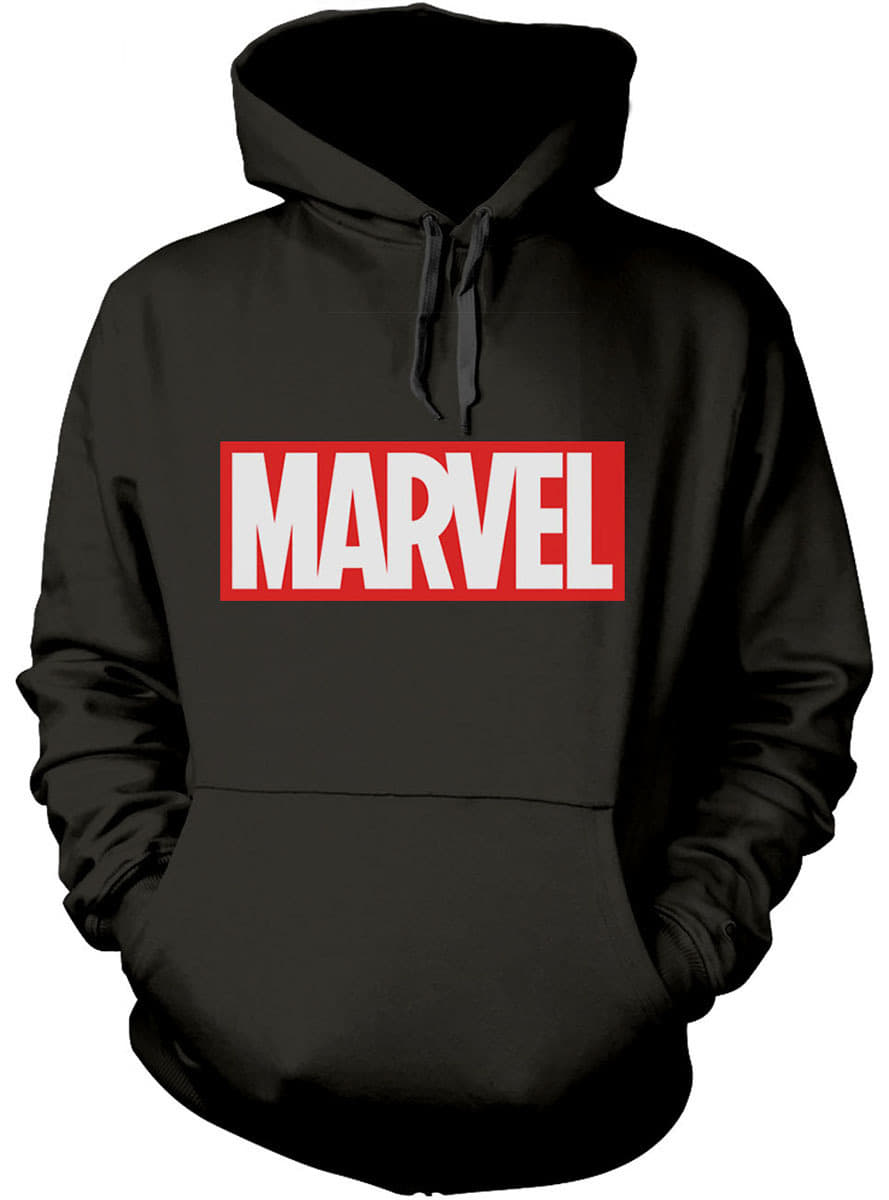 Marvel Comics Logo Hoodie For True Fans Funidelia