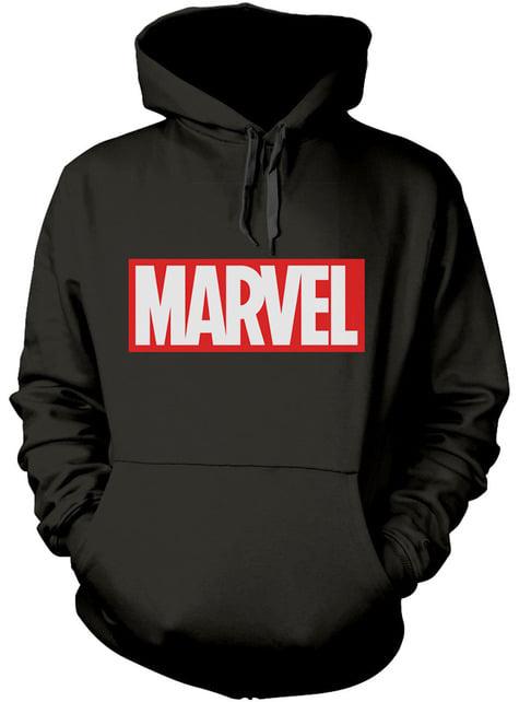 Sudadera de Marvel Comics Logo con capucha