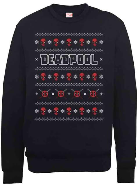 Deadpool Christmas Crew gebreidde trui