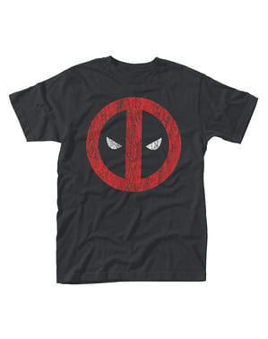 Deadpool Cracked Logo t-shirt for men