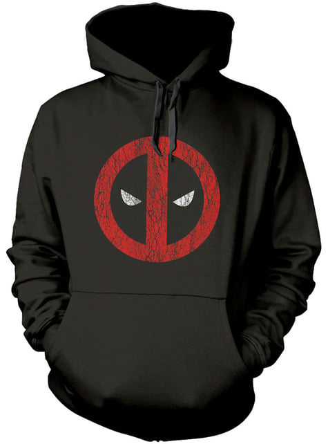 Sudadera de Deadpool Cracked Logo