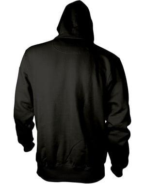 Deadpool Cracked Logo hoodie