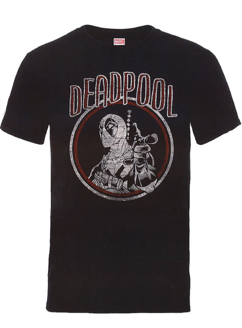 T-shirt Deadpool Vintage Circle