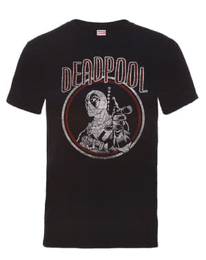 Camiseta de Deadpool Vintage Circle