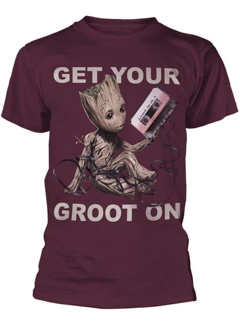 Camiseta de Guardianes de la Galaxia Vol 2 Get Your Groot On