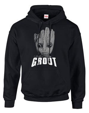 Felpa dei Guardiani della Galassia Vol 2 Groot Face