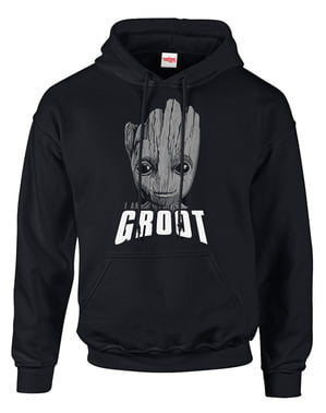 שומרי סווטשירט גלקסי Vol 2 Groot Face