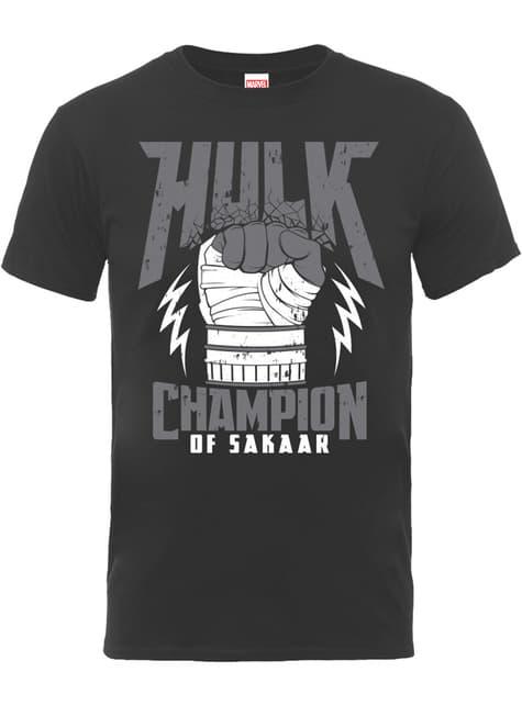 Thor Ragnarok Hulk Champion t-shirt