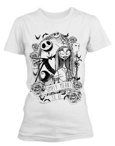 Be Camiseta The de para mujer Simply Pesadilla de To blanca Meant Navidad Antes xz1Txq