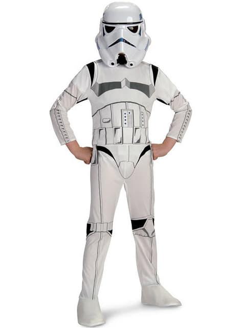 Fato de Stormtrooper infantil