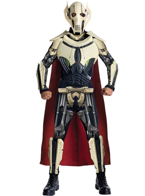 Costume da Generale Grievous Deluxe per adulto