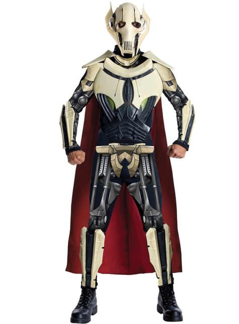 Deluxe General Grievous kostuum voor volwassenen