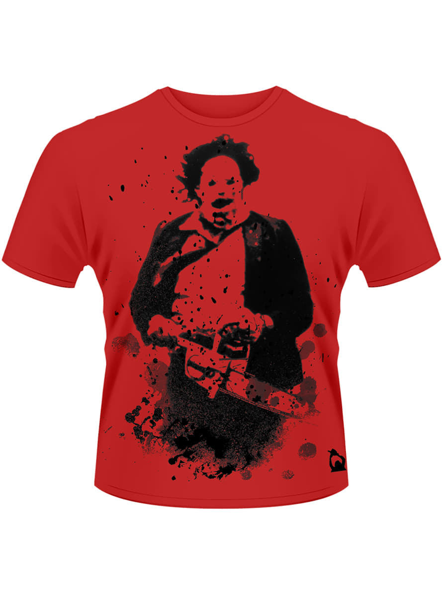 Red the texas chainsaw massacre leatherface t shirt for The red t shirt company