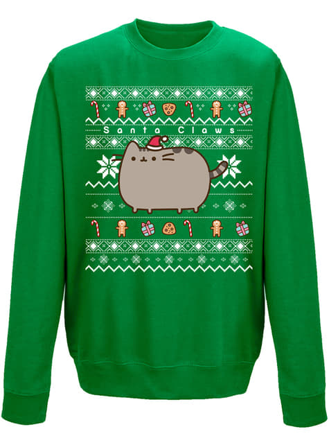 Sweat Pusheen Santa Claws adulte