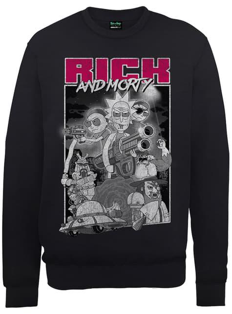 Guns Sweatshirt Rick und Morty