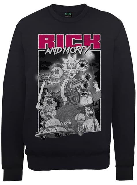 Sweatshirt de Rick and Morty Guns